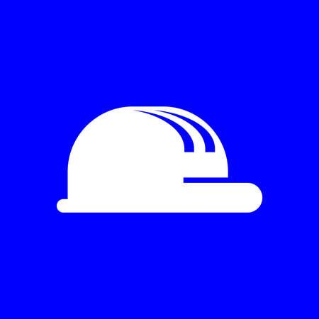 construction hat icon Illusztráció