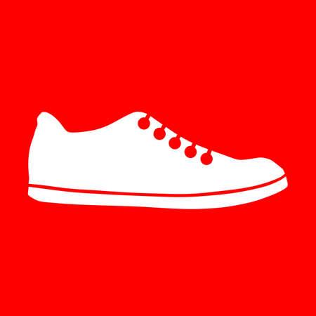 Shoe icon Stock fotó - 63424778