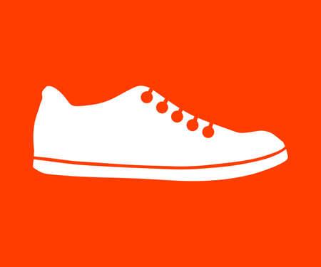 Shoe icon Stock fotó - 63424782