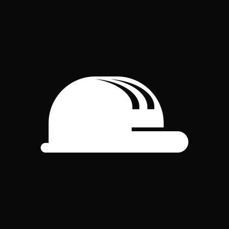 construction hat icon Illustration