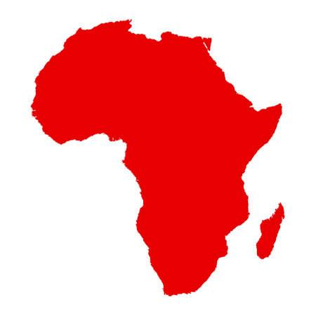 map of Africa  イラスト・ベクター素材