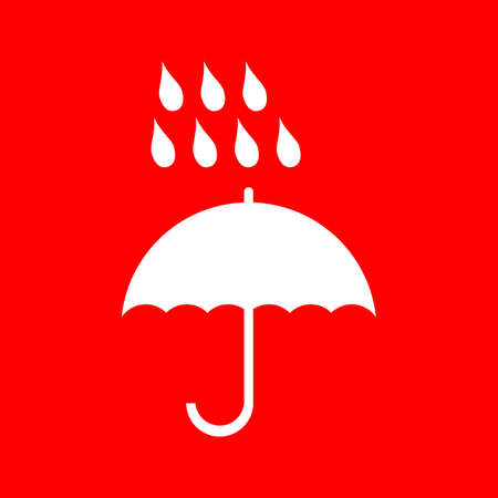Umbrella icon Stock fotó - 63424799
