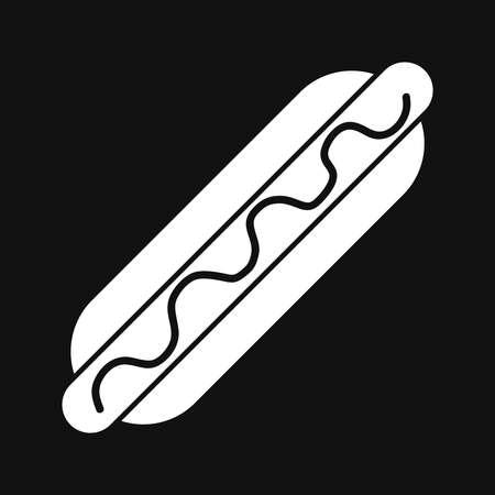 Hot Dog Icon Stock fotó - 63424801