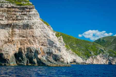 ionian: Rocks, caves and blue water