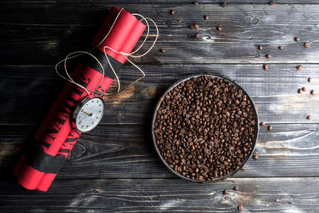 Boost your energy with coffee bomb