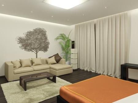 guest room: Camera 's immagine 3D