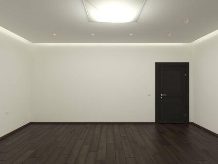 Il s empty room images 3D Banque d'images - 15491709