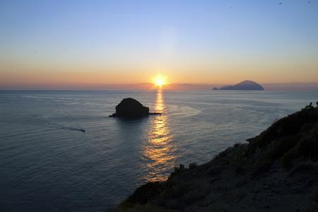 aeolian: sunset Aeolian Islands