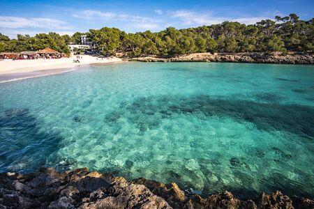 Beach in Parc natural de Mondragó, Mallorca, Spain