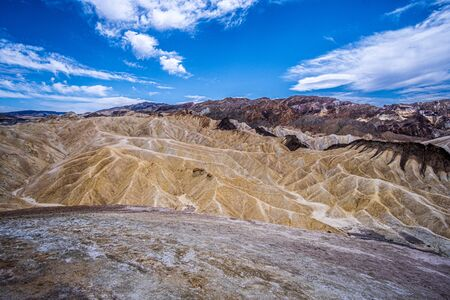Zabriskie Point in Death Valley, California