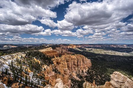 Beautiful Bryce Canyon in Utah, USA