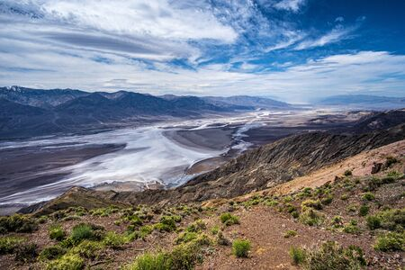 Dantes view in Death Valley, California Imagens