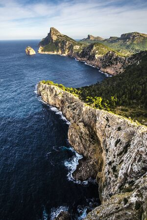 Cap de Formentor peninsula on Mallorca, Spain