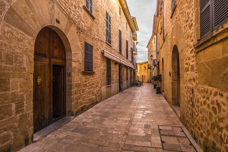 Old City in Alcúdia, Mallorca, Spain