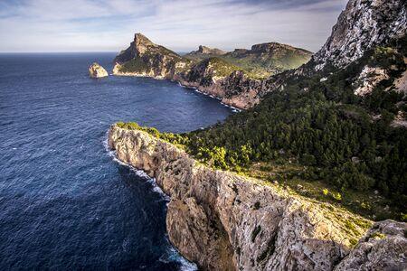 Cap de Formentor peninsula on Mallorca, Spain