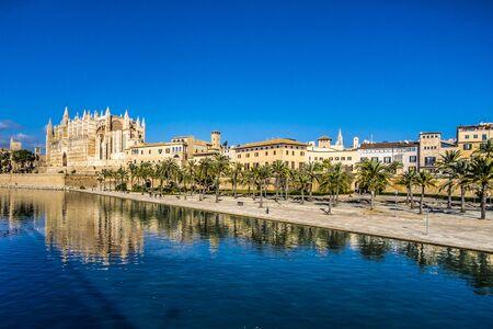 La Seu catedral in Palma de Mallorca, Spain
