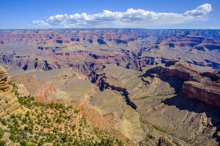 Beautiful views in magnificent Grand Canyon, Arizona, USA