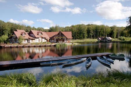 Agritourism resort
