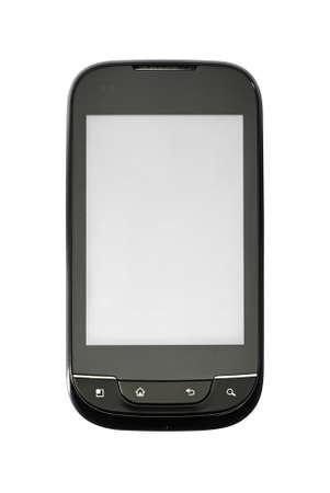 Studio photo of new smart phone, isolated on white background. Stock Photo - 9994666
