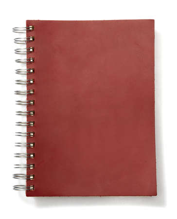 Add your own element.  An spiral notebook with blank pages. photo