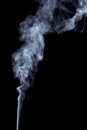 photographic effects: Studio shot of smoke on the black baclground
