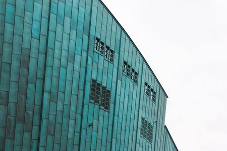 bioedilizia: Green building Nemo Museum di Amsterdam, Paesi Bassi Editoriali
