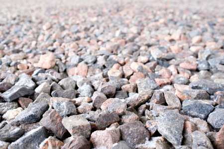 crushed: Crushed stone abstract textured background