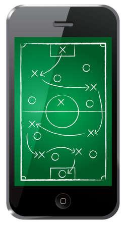 soccer coach: soccer tactic