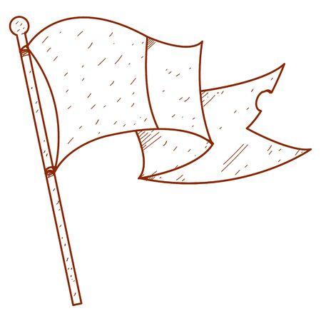 european culture: Evolving in the wind flag.
