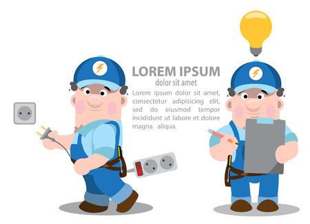 ingenieria elÉctrica: electricista infografía, la energética