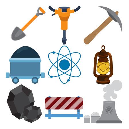 energetics: Energetics icons on white background.