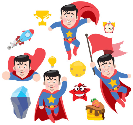 cartoon clock: , superstar