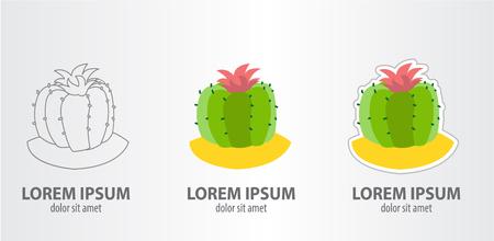 Icon of the round cactus
