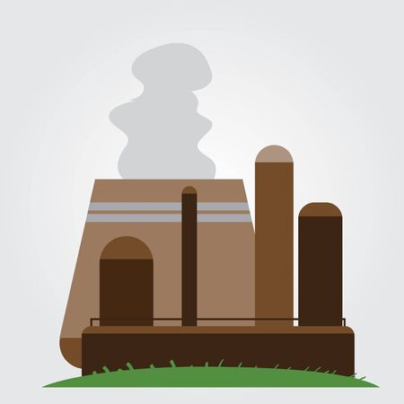 Nuclear Power Plant logo on a white background