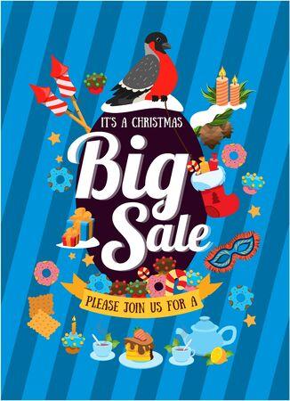 Christmas sales 矢量图像