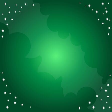 Emerald background with abstract pattern. Template for a poster, cards, leaflets 矢量图像