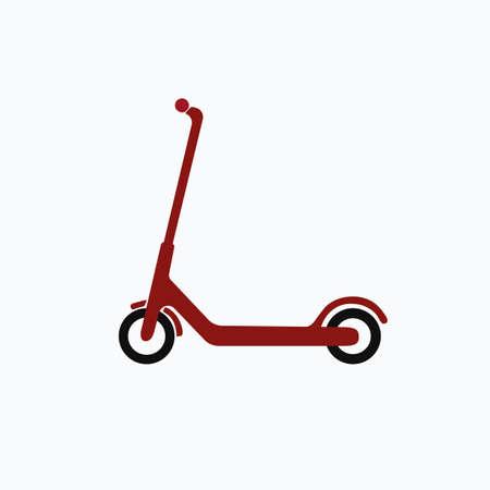 Scooter icon. Vector illustration. Illustration