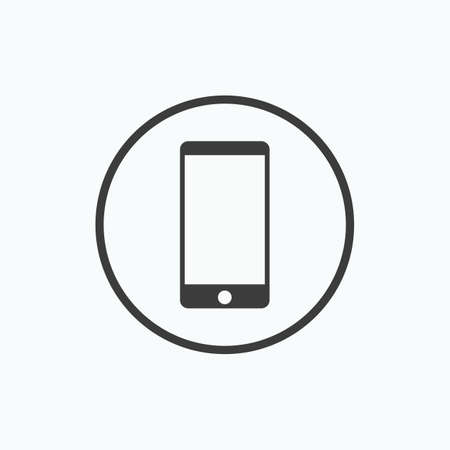 Smartphone icon. Vector illustration. Illustration