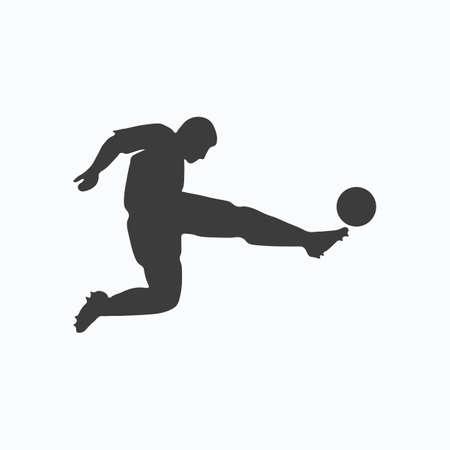 Football icon. Football League. Vector illustration.