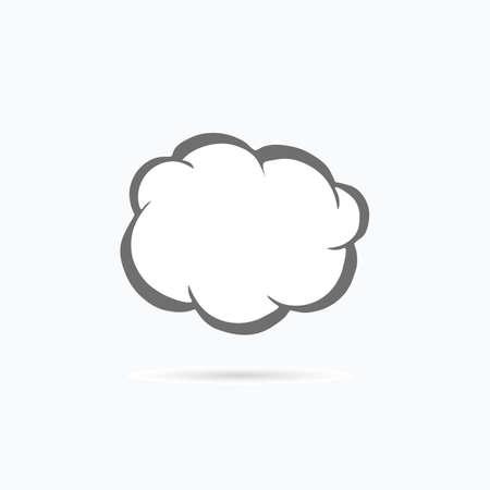 Messenger window icon. Vector illustration.