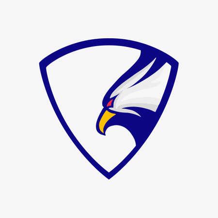 Eagle symbol of america. Symbol of America icon. Vector illustration.