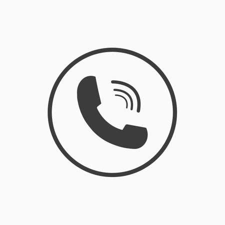 Call icon. Vector illustration.