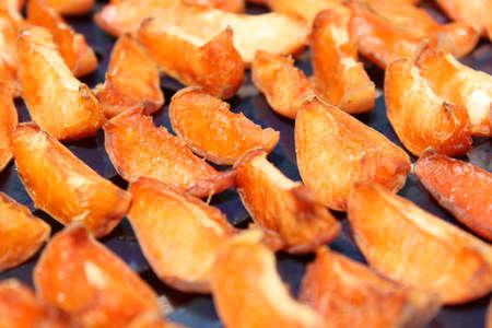 Dried apricots chopped Stock Photo