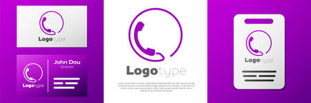 Logotype Telephone 24 hours support icon isolated on white background. All-day customer support call-center. Full time call services.