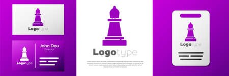 Logotype Chess icon isolated on white background. Business strategy. Game, management, finance.