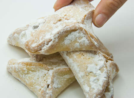 Hamann ears are cookies eaten during the jewish holdiday purim