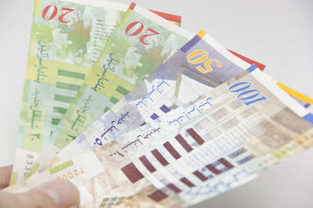 Israeli currency the Shekel Stock Photo - 9225907