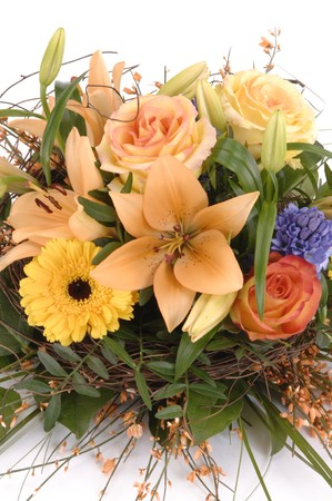 bouquet, bunch of flowers Stock Photo - 4518054