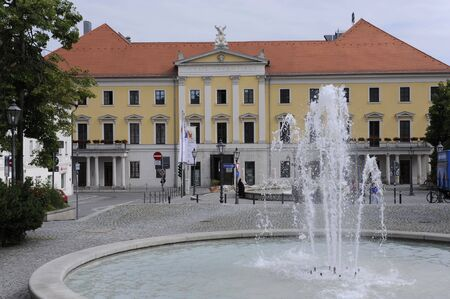 the theater of regensburg in bavaria Germany photo