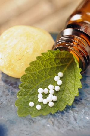 homeopathic: alternative medicine  Stock Photo